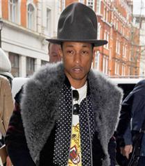 Pharrell Williams`ın büyük şapka tutkusu