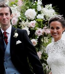 Pippa Middleton Evlendi
