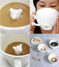 Porselen hayvanlı çay fincanı
