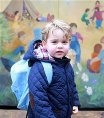 Prens George Okula Başladı