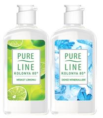Pure Line 80° Kolonyaların İki Farklı Kokusuyla El Hijyeniniz Emin Ellerde!