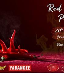 Red Pepper Party 20 Eylül'de