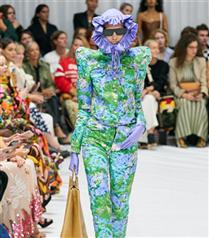 Richard Quinn İlkbahar/ Yaz 2022 Koleksiyonu