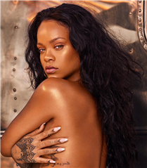 Rihanna'nın Yeni Vücut Highlighter'ı