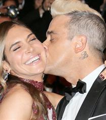 Robbie Williams ve Eşi Ayda Field Aynı Projede