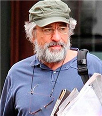 Robert De Niro tanınmaz halde