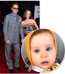 Robert Downey Jr kızının fotoğrafını paylaştı