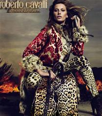 Roberto Cavalli reklam yüzü Gisele Bundchen