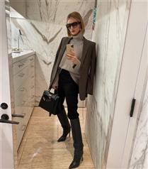 Rosie Huntington-Whiteley'nin Kış Stilinden İlham Alın