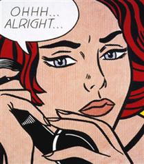 Roy Lichtenstein`ın Ohh Alright`ı satıldı