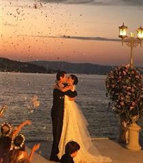 Saadet Işıl Aksoy`un düğünü