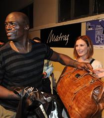 Seal ve Heidi Klum`a özel çanta