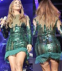 Selülitli Jennifer Lopez