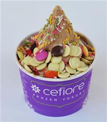 Serinleten lezzet; Cefiore Frozen Yogurt
