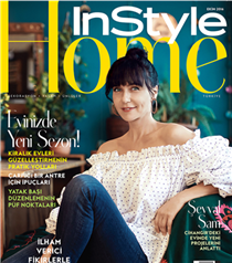 Şevval Sam InStyle Home Ekim Kapağında