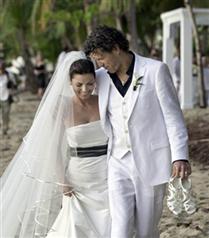 Shania Twain düğün fotoğrafları