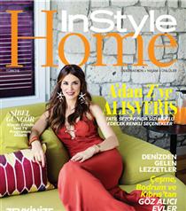 Sibel Güngör'ün Evi InStyle Home Temmuz Sayısında