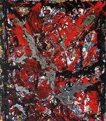 Soyut Ekspresyonist Sanatçı Özge Gürkan, Contemporary Venedik Sanat Fuarı'nda