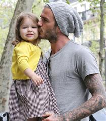 Stil çocuk: Harper Beckham