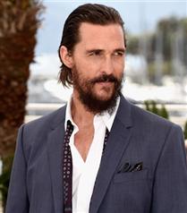 Stil erkek: Matthew McConaughey