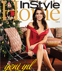 Tanem Sivar InStyle Home Aralık Sayısında