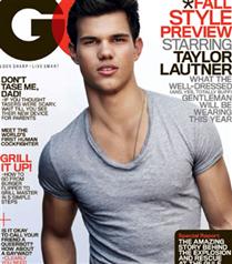 Taylor Lautner GQ kapağında