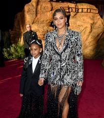 The Lion King Prömiyerine Beyonce Damgası