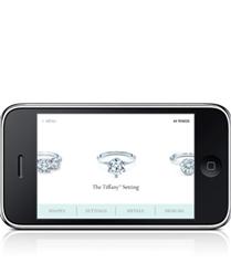 TIFFANY & CO. nişan yüzükleri artık iPhone`larda