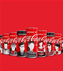 Türkiye'nin Güzellikleri Coca-Cola Kutularında