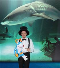 Türkiye`nin ilk sihirbaz köpekbalığından 23 Nisan`da şov