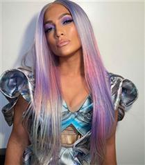 Unicorn İlhamlı Saçlarıyla Jennifer Lopez