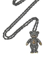 Vivienne Westwood Swarovski oyuncak ayı kolyesi