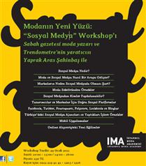 Yaprak Aras Sahibaş`tan Sosyal Medya Workshop`ı