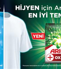 Yeni Ariel Oxi Extra Hijyen, Aquapudra Formülüyle Derinlemesine Temizlik