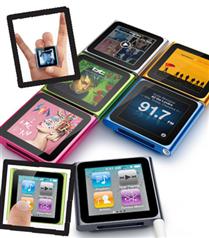 Yeni iPod nano Multi Touch minicik