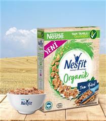 Yüksek Lif Kaynağı ve Tam Yulaf İçeriği ile Yeni NESFIT® Organik!
