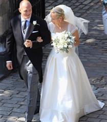 Zara Phillips ile Mike Tindall`ın Kraliyet Düğünü