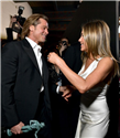 Brad Pitt ve Jennifer Aniston'ın SAG Ödülleri'ndeki Sıcak Anları