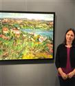 """Claire Arkas """"Can/Cam Kırıkları"""" Sergisiyle İstanbul'da"""