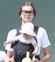 Irina Shayk Bebeğiyle Gezintide