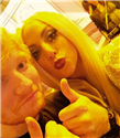 Lady Gaga'dan Ed Sheeran'a Destek
