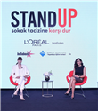 Nur Fettahoğlu ve L'oréal Paris'ten Sokak Tacizine Karşı 5D Hareketi