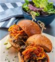 Özgün Sandviçler ve Burgerler Monochrome'da