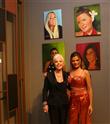 Ünlü Ressam Mine Tudun'un Eserleri  Hilton Maslak'ta Sergilendi
