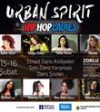 Urban Spirit - HipHop Kadınları 15-16 Şubat'ta Zorlu PSM Sky Lounge'da
