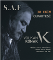 Volkan Konak Konseri 30 Ekim'de S.A.F Fethiye'de