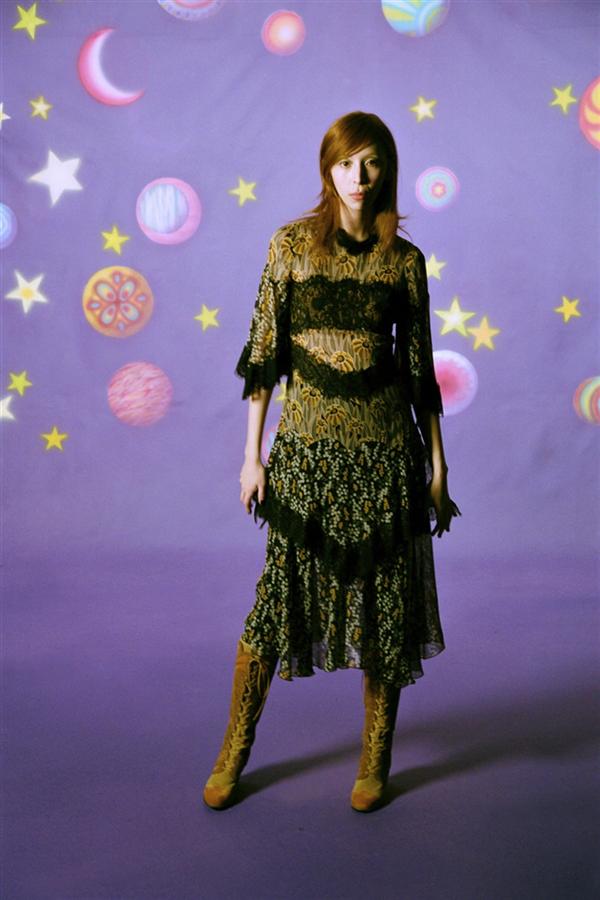 1968 Ruhu: Anna Sui Sonbahar Sonbahar 2021 Koleksiyonu - 1968 Ruhu: Anna Sui Sonbahar Sonbahar 2021 Koleksiyonu