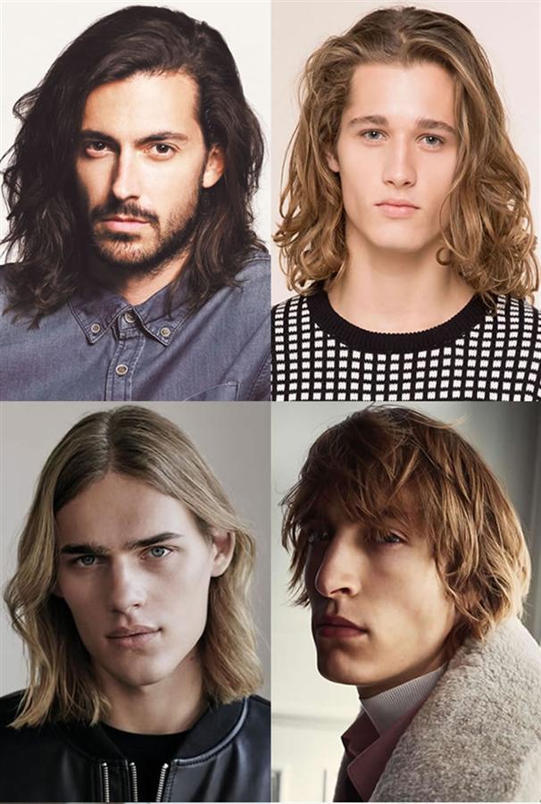 Daha uzun saçlar