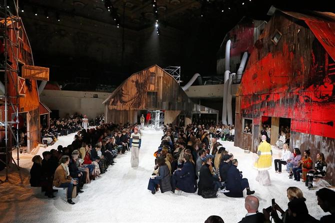 2018-19 New York Calvin Klein Defilesi