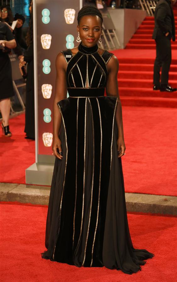 Lupita Nyong'o - 2018 BAFTA Ödülleri Kırmızı Halı